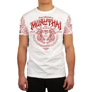 Футболка MUAY THAI WHITE