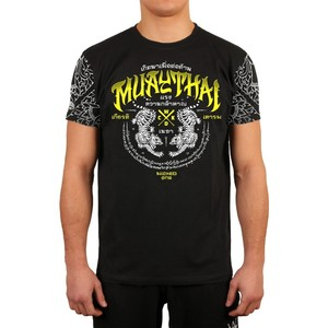 Футболка MUAY THAI BLACK